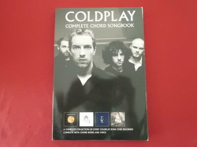 Coldplay - Complete Chord Songbook (neue Ausg. . Songbook Notenbuch Vocal Guitar