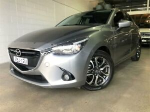2016 Mazda 2 DJ2HAA Genki Silver Sports Automatic Hatchback Caringbah Sutherland Area Preview