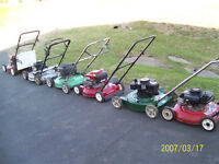 Lawnmowers for sale!