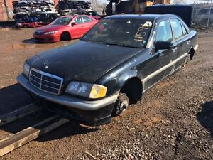 1998 Mercedes C230 just arrived for parts at Pic N Save!