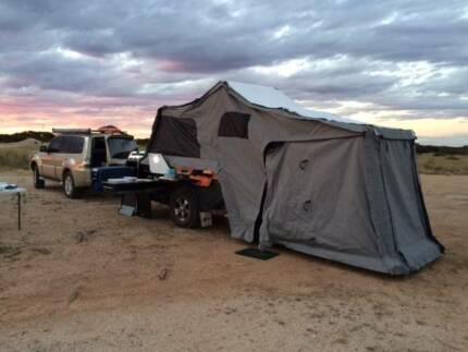 Camper trailer Pioneer Gascoyne Off road trailer