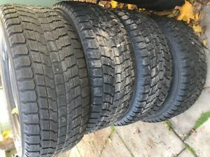 18 inch YOKOHAMA GEOLANDER WINTER TIRES WITH RIMS