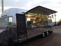 Airstream event catering trailer