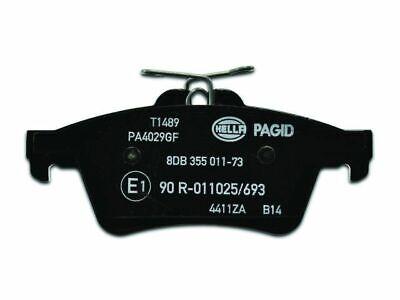 For 2009-2015 Jaguar XF Brake Pad Set Rear Pagid 21891SK 2010 2011 2012 2013