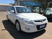 2010 Hyundai i30 FD MY10 CW SX 1.6 CRDi White 4 Speed Automatic Wagon Margaret River Margaret River Area Preview