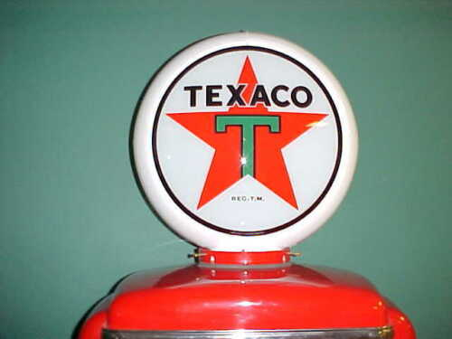 TEXACO STAR GAS PUMP GLOBE