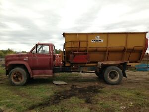 Gmc silage truck