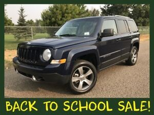 2016 Jeep Patriot 4x4 HIGH ALTITUDE  **LEATHER-SUNROOF**