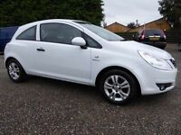 Vauxhall Corsa 1.2i Energy 16v (a/c)..White is the New Black! Lovely Corsa with Full Service History