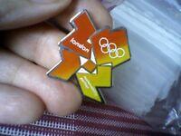 LONDON OLYMPICS 2012 EDF ENERGY COLLECTABLE PIN BADGE - UNUSED