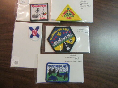 Canada Boy Scout Patches Lot of 11   c5