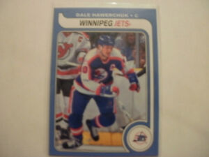 2008-09 O Pee Chee hockey Dale Hawerchuk retro parallel card