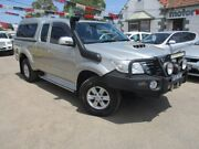 2013 Toyota Hilux KUN26R MY12 SR5 Xtra Cab Silver 5 Speed Manual Utility Gepps Cross Port Adelaide Area Preview