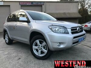 2008 Toyota RAV4 GSA33R MY08 SX6 Silver 5 Speed Automatic Wagon Lisarow Gosford Area Preview