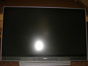 """62"""" Hitachi LCD Projection TV"""
