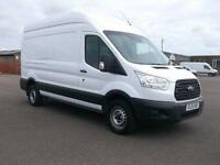Ford Transit T350 LWB HIGH ROOF VAN TDCI 125PS VAN DIESEL MANUAL WHITE (2015)