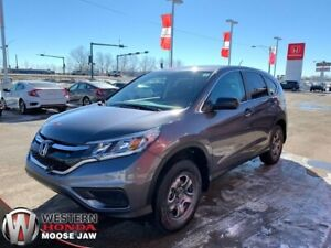 2016 Honda CR-V LX- 4 Year 80,000KM Warranty.