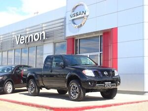 2016 Nissan Frontier PRO-4X 6 speed Manual King Cab
