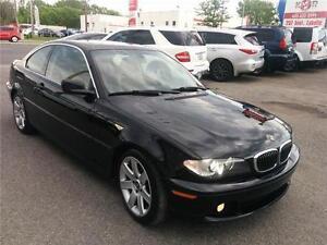 2004 BMW 325Ci, SPORT PKG,MANUAL, **ONE YEAR WARRANTY**CUIR,