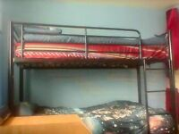 bunk bed for sale with free matress