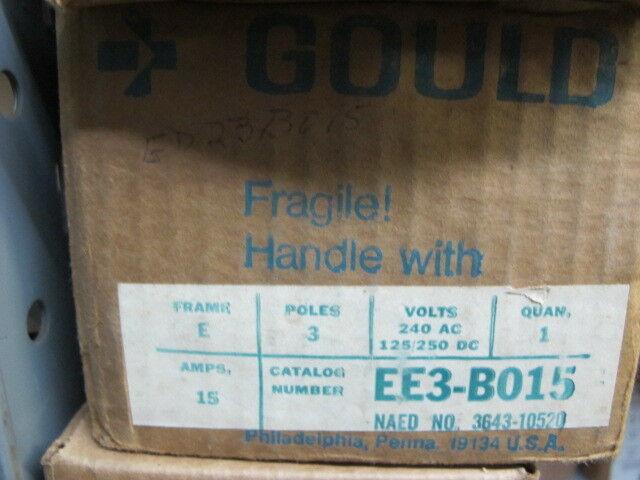 ITE/Siemens/Gould EE3B015 3 POLE 15 AMP Circuit Breaker- NEW