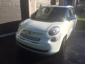FIAT 500 L Fully Loaded with Manufacturer Extended Warranty Gatineau Ottawa / Gatineau Area image 1