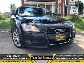 2009 Audi TT Conv.|$148Wk|3.2L V6|NAVI|Convertible|Htd Seats|R8
