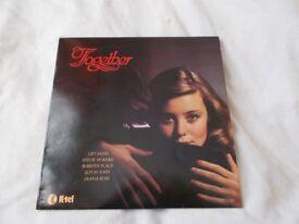 Vinyl LP Together - Various Artists K-tel NE 1039 Stereo 1979