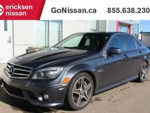 2011 Mercedes-Benz C-Class C63 AMG Package - V8, 481HP!