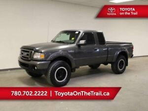 2011 Ford Ranger SPORT; TONNEAU COVER, 4X4, V6, TRAILER HITCH, A