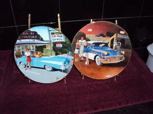 Classic Memories 56 Buick Century & 57 Chevy Bel Air Plates