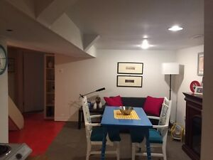 Queen West Furnished Basement (1 brdm) - Available Oct 15