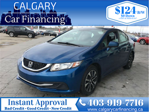 2014 Honda Civic EX*Local Car, No Accidents, New Tires*