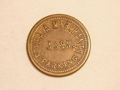 Ephrata, PA older brass parking token