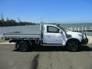 2012 Holden Colorado RG LX (4x4) White 6 Speed Automatic Cab Chassis Horsley Wollongong Area Preview