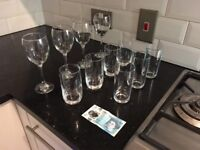 Glassware and kitchen set - ideal for new home