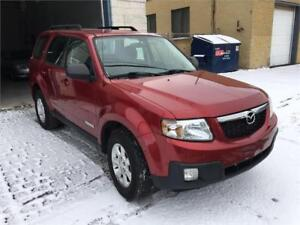 2008 MAZDA TRIBUTE***4 CYLINDRES+8 PNEUX+AUTOMATIQUE**