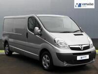 2013 Vauxhall Vivaro 2900 CDTI SPORTIVE LWB Diesel silver Manual