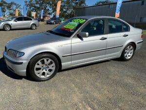 2002 BMW 318i E46 Silver 5 Speed Auto Steptronic Sedan Harrington Greater Taree Area Preview