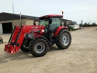 2014 McCormick 60.50 4WD Tractor with Cab & Loader