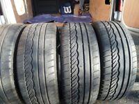 4 x Dunlop 205/40 R18 82w Tyres