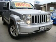 2010 Jeep Cherokee KK MY11 Sport Silver 4 Speed Automatic Wagon Enfield Port Adelaide Area Preview