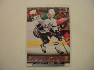 2013-14 Upper Deck hockey Valeri Nichushkin rookie card