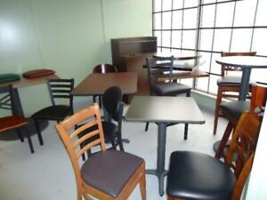 NEW AND USED RESTAURANT CHAIRS