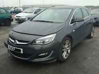 VAUXHALL ASTRA J BREAKING MOST PARTS AVAILABLE RING FOR MORE INFO USED