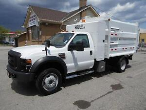 2009 FORD F550 6.4L Diesel DRW HAUL ALL M1400 Collection Unit