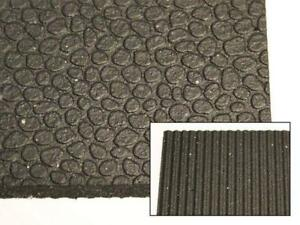 "Premium Rubber Gym Flooring Mats - 4' x 6' x 1/2"" - Brand New!"