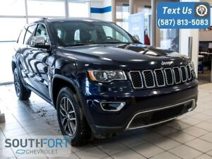 2017 Jeep Grand Cherokee Limited 4WD Leather Sunroof $244 B/W
