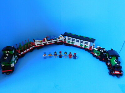 Lego 10173 Holiday Train Complete No Instruct. (Online Instruct free) Christmas