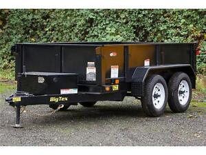 BIG TEX 70SR-10 5X10 DUMP TRAILER 7,000LB GVW